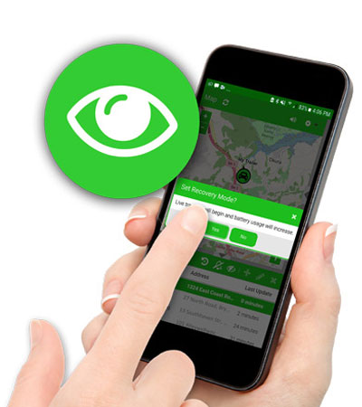 Blipbr Recovery Mode for real time gps tracking
